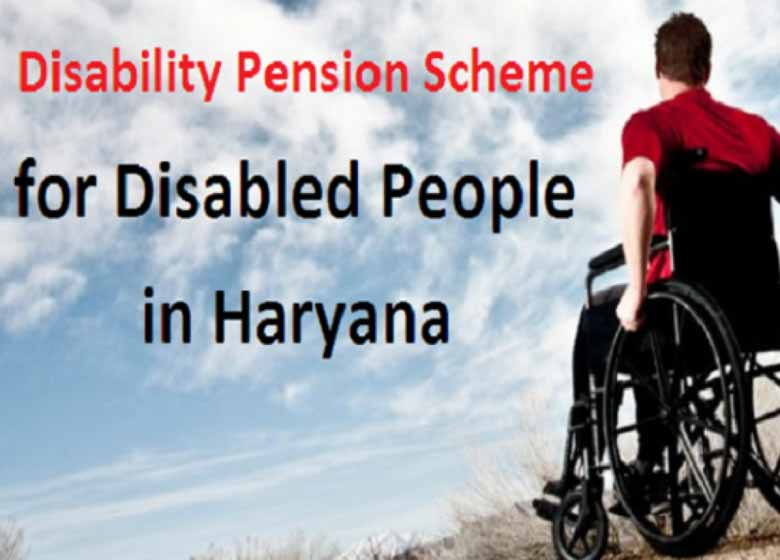 Haryana Government is running the 'Haryana Divyang Persons Pension Scheme' to provide social security to disabled persons and to make them self-reliant and empowered.
