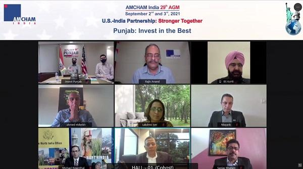 IN A FIRST, PUNJAB INKS MoU WITH AMCHAM INDIA; WILL FACILITATE EASE OF DOING BUSINESS WITH US COMPANIES