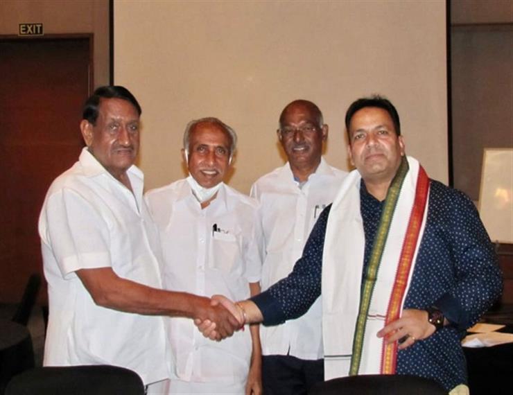 Kamaldeep Singh Saini elected Vice Chairman of National Cooperative Agriculture and Rural Development Banks Federation Mumbai