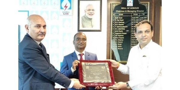 Life time achievement award to Chairman Electricity Regulatory Commission