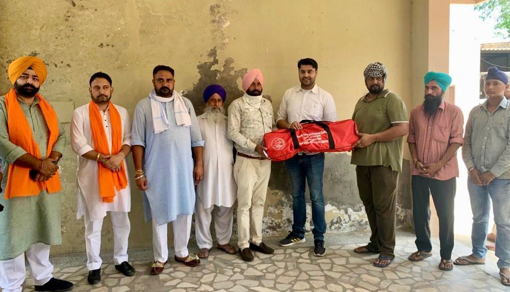 PYDB CHAIRMAN DISTRIBUTES SPORTS KITS AMONG YOUTHS OF 16 VILLAGES