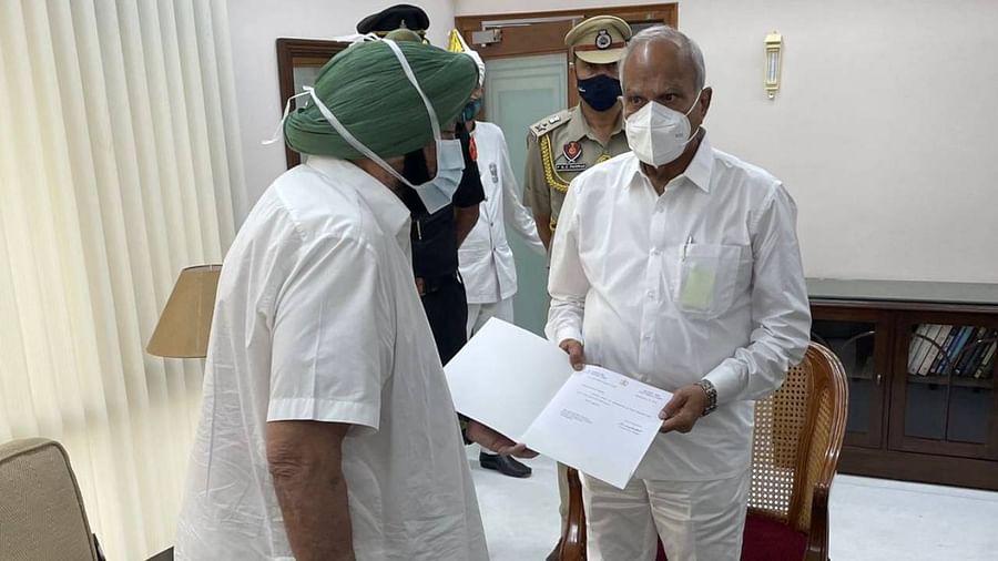 Punjab Amrinder resign