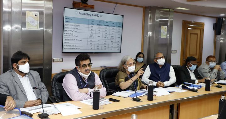 Union Minister of SteelReviews Status of Steel Cost Reduction in Production of PSUs;Directs for Cost Reduction through Improvement in Parameters