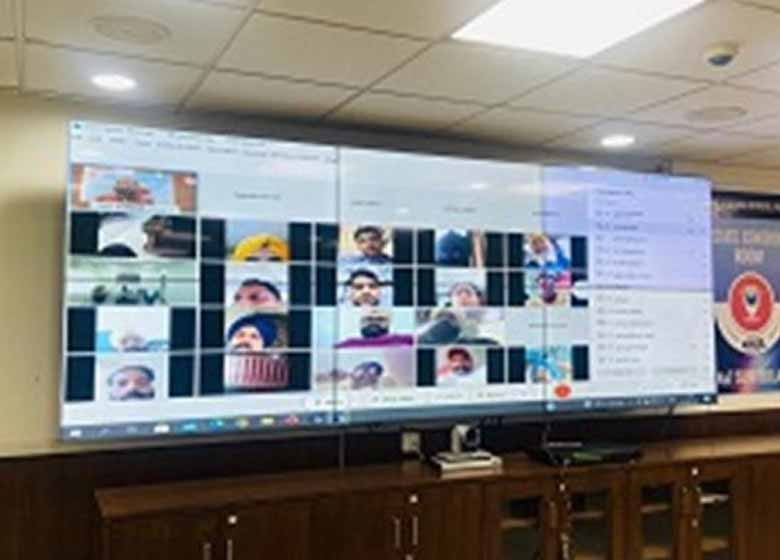 ceo punjab holds virtual meeting with booth level officers