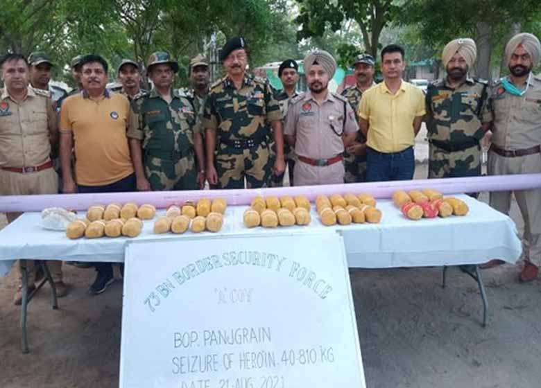 Punjab Police busts a module established by SFJ, a US based organization, declared 'unlawful' by the Indian government. Cultural programme and dinner organized in honour of President of India