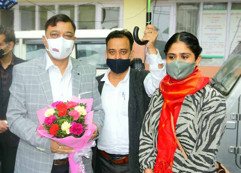 Shimla, BJP State President and member of Parliament Shimla presided over the DISHA meeting held in Bachat Bhawan DC office shimla today. Additional Deputy Commissioner Kiran Bhadana and ADM Protocal Sachin Kanwal were also present in