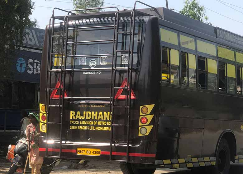 10 buses of tax evading private operators impounded 4 challaned