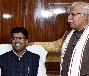 haryana deputy chief minister sh. dushyant chautala announced that nambardars of the state and their family