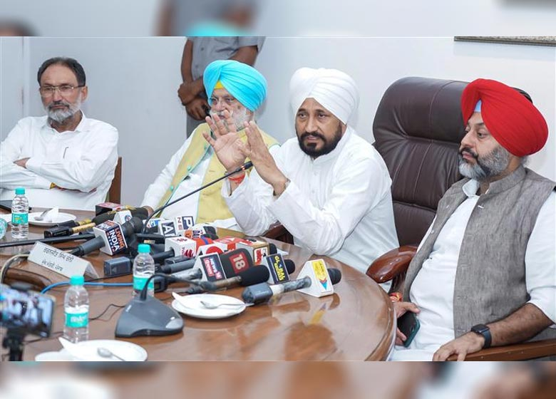 Punjab Cm Announces 'Mera Ghar Mere Naam' Scheme To Bestow Proprietary Rights On Residents Within 'Lal Lakir' Of Villages And Cities