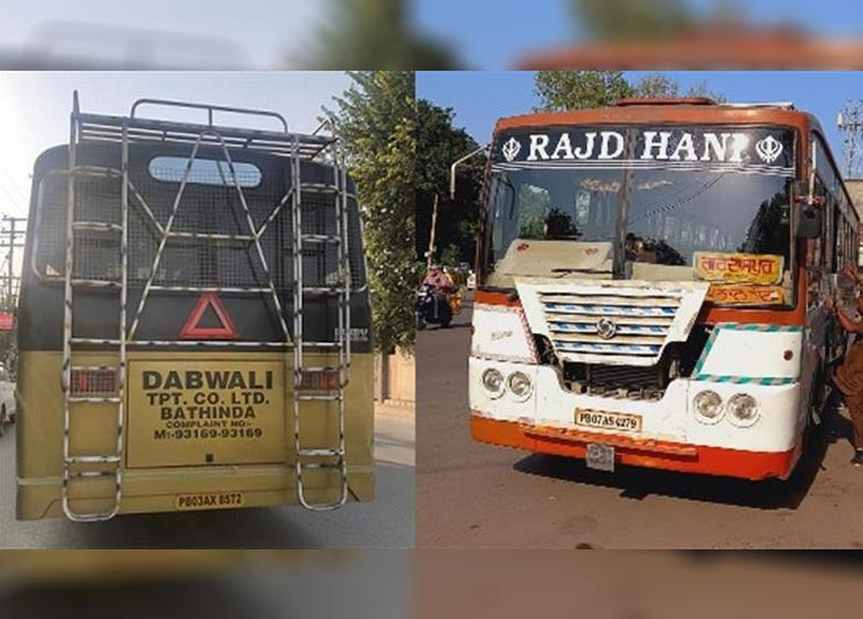 Transport Department cracks down heavily on illegal buses, 25 more buses of big private players floating norms impounded
